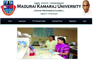 MADURAI KAMARAJ UNIVERSITY - OFFICIAL SITE